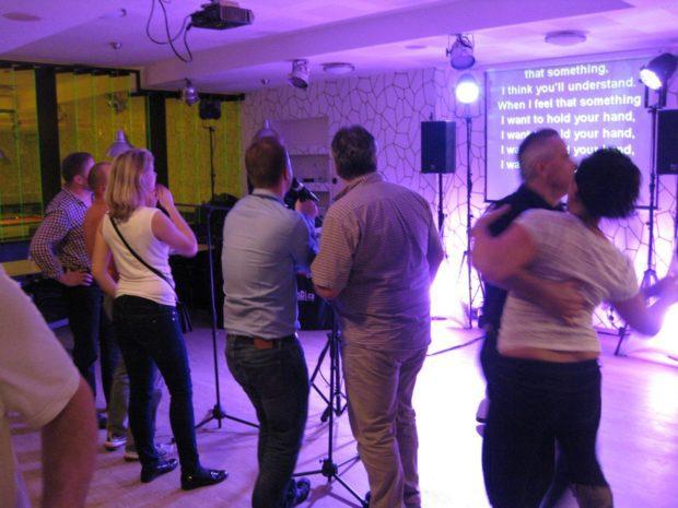 Karaoke show pro oslavence