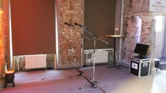 karaoke stage s mikrofony