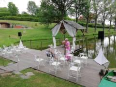 svatební obřad na mole