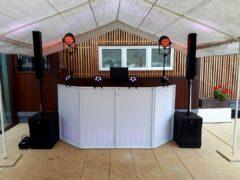 mobilní DJ stage