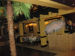 mobilní bar pro hosty