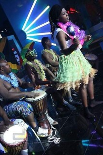 afričtí bubeníci