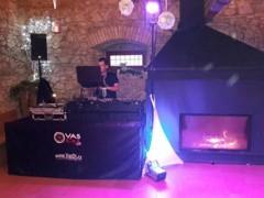 """sál """"Špejchar"""" DJ stage"""