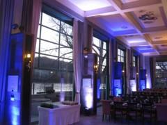 Art Restaurant - osvětlení zdí