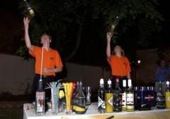 tandemová barmanská show