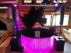 umístění DJ stage