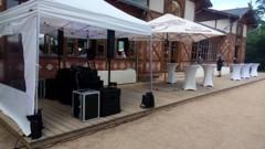 DJ na terase - instalace stanu