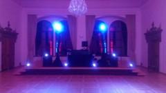osvětlení tanečního parketu