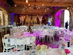 svatební scénické osvětlení