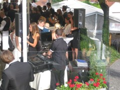 DJ na terase Piano Nobile