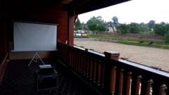 slideshow na balkóně